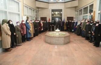 AK Parti Battalgazi İlçe Kadın Kolları Başkanı Ebru İnanç Güven Tazeledi
