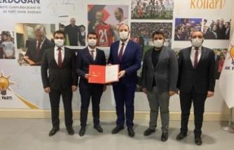AK Parti Malatya İl Gençlik Kolları Başkanı Değişti