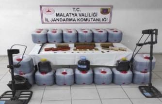 Malatya'da Kaçak Şarap Ele Geçirildi