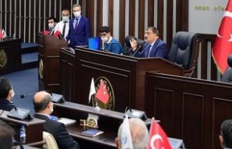 Gürkan,Belediye Çalışanlarıyla İstişare Toplantısı Yaptı
