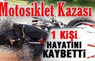Malatya'da Motosiklet otomobil ile çarpıştı: 1 ölü