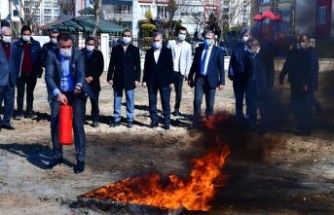 Yeşilyurt Belesiyesi'nde 'Yangın Ve İlk Yardım' Eğitim Programı