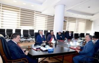 Yeşilyurt Muhtarlar Derneği'nden Başkan Gürkan'a Ziyaret