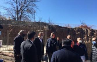 Genel Müdürler Doğanyol'daki Kentsel Dönüşüm Çalışmalarını  Yerinde İnceledi