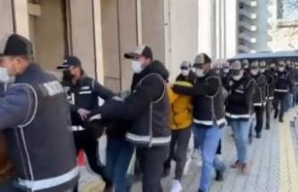 Malatya'da Suç Çetesi Operasyonu: 13 Tutuklama