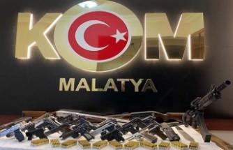Malatya'da Suç Örgütüne Operasyon