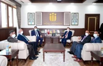 Gürkan'dan Rektör Kızılay'a Ziyaret