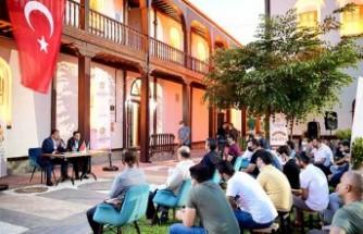 Başkan Gürkan, Gençlerle Açık Hava Söyleşilerinde Bir Araya Geldi