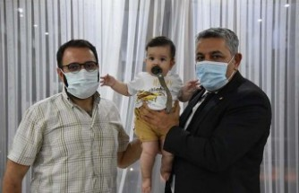 Başkan Sadıkoğlu'ndan Eyüp Çınar bebeğe destek ziyareti