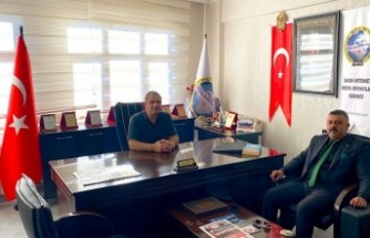 Başkan Karademir'den Bimyad'a Ziyaret