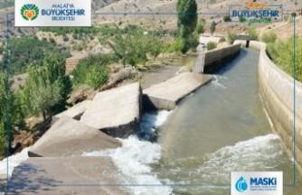 Sulama kanalı patladı, bahçeler ve evler suya teslim oldu