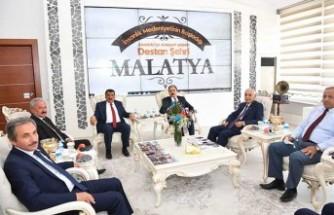 Ahilik Haftası Kutlama Heyetinden Başkan Gürkan'a Ziyaret