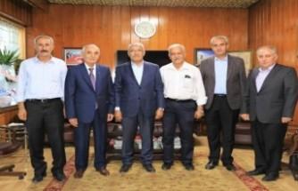 Başkan Güder'den ESKKK Başkanı Evren'e ziyaret
