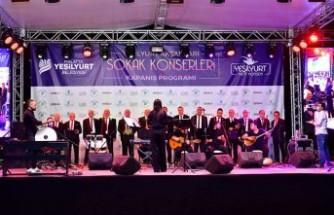 Yeşilyurt Sokak Konserleri Güzel Bir Finalle Taçlandırıldı