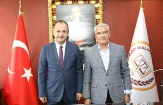 Başkan Güder'den Baro Başkanı'na 'Hayırlı Olsun' Ziyareti