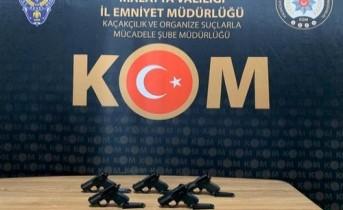 Malatya'da Silah Kaçakçılarına Operasyon