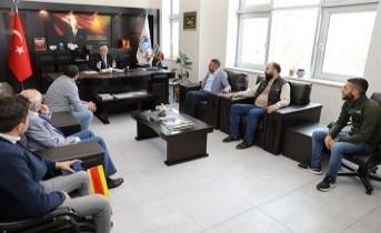 Taraftarlardan Başkan Güder'e Ziyaret