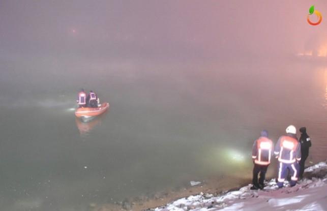 Orduzu'da Otomobil Gölete Uçtu: 1 ölü, 3 yaralı