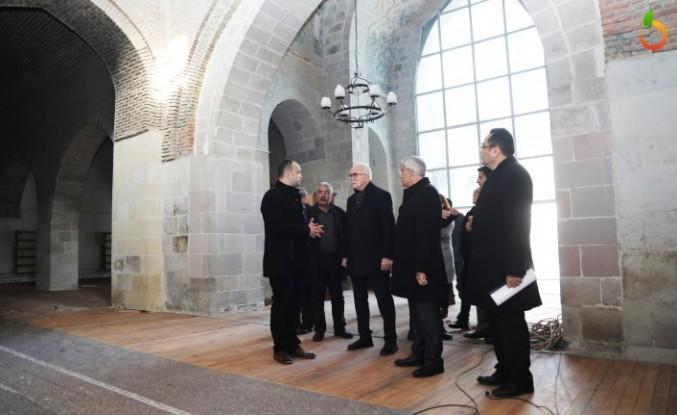 Şahabe-İ Kübra Medresesi'nin Ayağa Kaldırılması İçin Çalışmalar Başlıyor