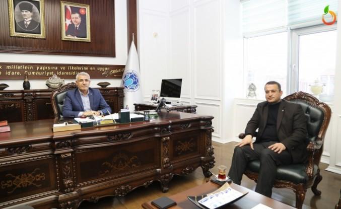 Başkan Güder'in İkramiye Jestine Teşekkür Ziyareti