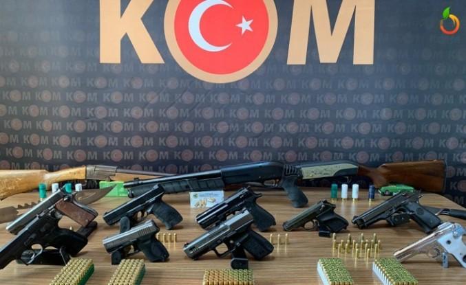 Malatya'da Silah Ticareti Yapanlara Operasyon!