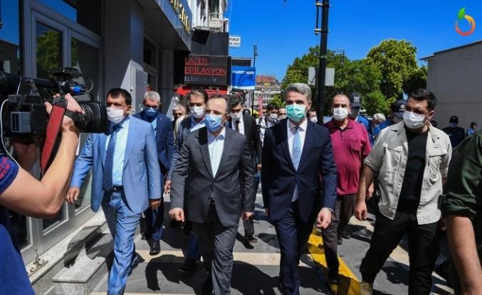 Bakan Yardımcısı Çataklı'dan Büyükşehir'i ziyaret