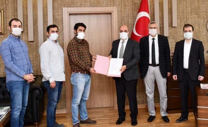 Malatya Hekimhan Kurşunlu Göleti Sulaması İnşaatına Ait Sözleşme İmzalandı