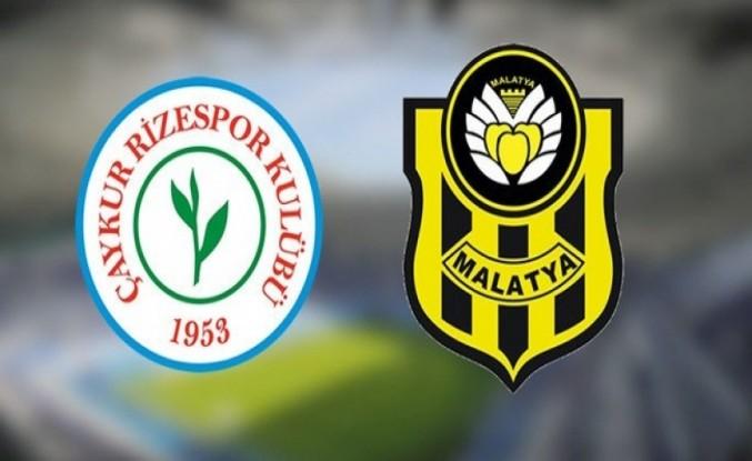 Maç Sonucu: Ç. Rizespor 0-4 Yeni Malatyaspor