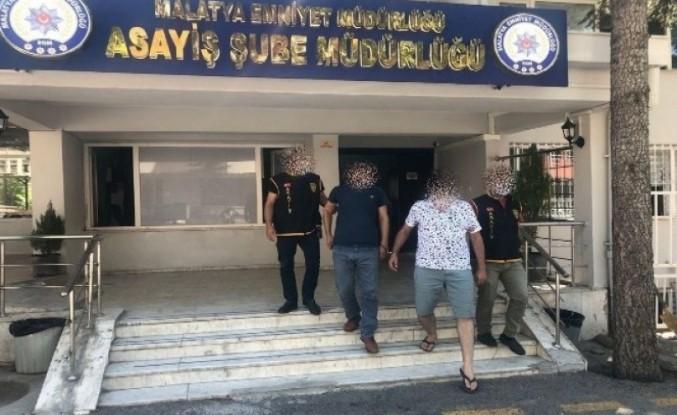 Malatya'da sahte dekont ile dolandırıcılığa 2 tutuklama