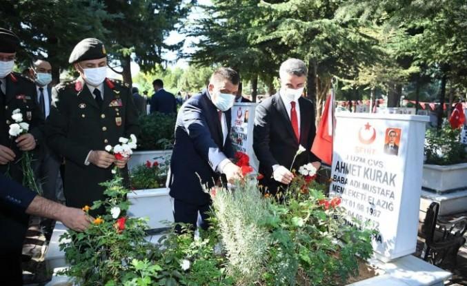 Malatya'da 19 Eylül Gaziler Günü Kutlamaları Gerçekleştirildi
