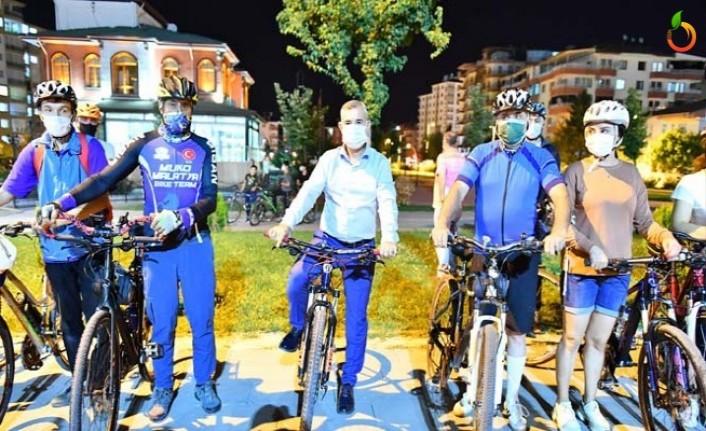 Başkan Çınar'da Pedal Çevirdi
