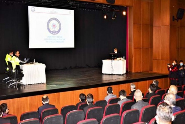 Kış Tedbirleri Toplantısı Vali Baruş Başkanlığında Yapıldı