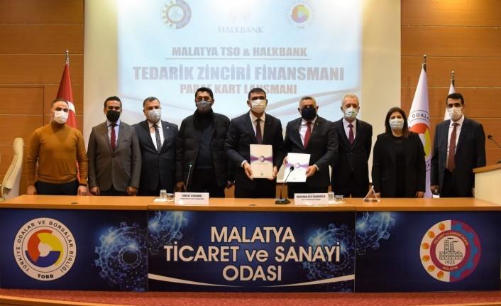 Malatya TSO üyelerini rahatlatacak finansman anlaşmasına imza atıldı