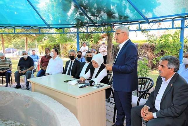 Başkan Güder, 'Tekstilkent projesi hatunsuyu ve bölgenin kaderini değiştirecek'