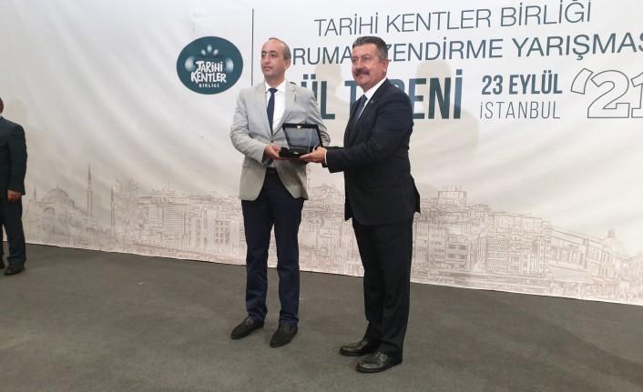 Tarihi Kentler Birliğinden Battalgazi Belediyesi'ne Ödül