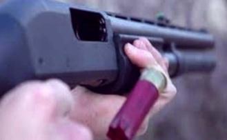 Genç kadına pompalı tüfekle saldırı