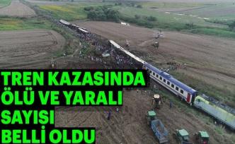 Tekirdağ'da Tren Kazası! 24 ölü, 124 yaralı