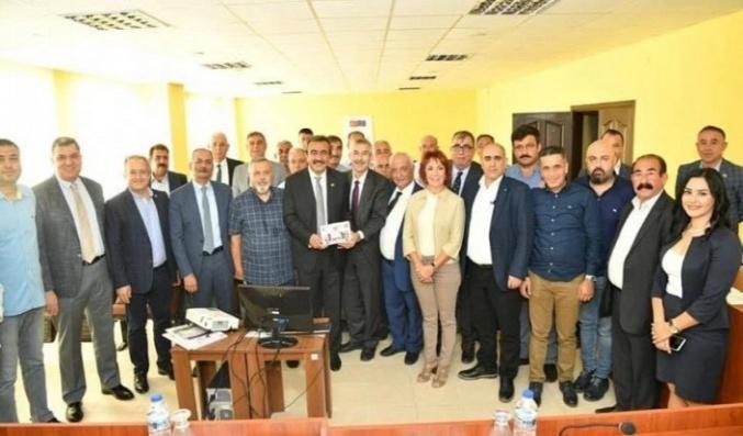 Arapgir Belediyesi Doğu Akdeniz Belediyeler Birliği Üyesi Oldu