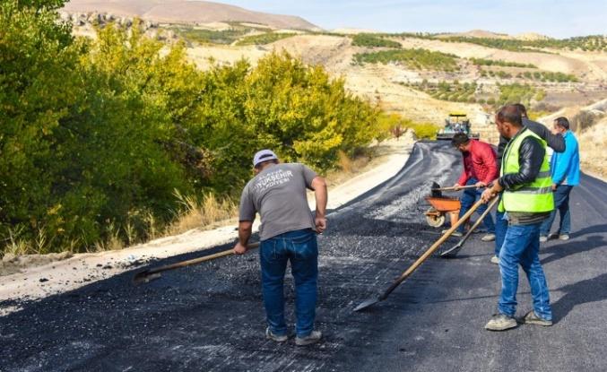 Büyükşehir Darende'de Çalışmalarını Sürdürüyor