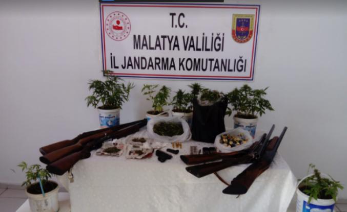 Pütürge'de Uyuşturucu Operasyonu